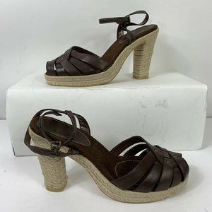 White Mountain Heels Espadrilles Wm Sz 7 NWOB